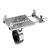Aleación de aluminio Moto Bicicleta Bicicleta MTB Manillar Teléfono GPS Soporte de vástago