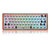 [Wooden Case Version] Geek Customized GK61 Hot Swappable 60% RGB Keyboard Customized Kit PCB Mounting Plate