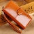 Women Leather Patchwork 10 Card Slots Wallet Card Holder Phone Case Coin Bag Casual Wallet