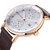 MINI FOCUS MF0052G Cinturino in pelle da uomo Guarda orologi da polso al quarzo luminoso stile casual