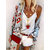 Women Solid Color V Neck Casual Sleeveless Tops