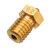 Ugello dell'estrusore dell'ottone del filo di TRONXY® V6 0.2 / 0.3 / 0.4 / 0.5 / 0.6 / 0.8mm M6 per le parti della stampante 3D