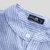 Áo thun nam cổ chữ V sọc cotton thời trang dài tay giản dị