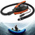 12V LED Pantalla al aire libre Deportes SUP vehículo inflable bomba Paddle Board bote neumático Kayaking bomba de aire con 6 unids Air Tap