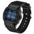 SANDA 329 Moda LED Pantalla Reloj para hombre Impermeable Reloj digital deportivo