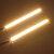 14 cm COB LED Daytime Running Lights DRL Strip Lampu Waterproof 12V 8W 500LM 2PCS Universal