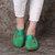 Sandali a punta tonda per donna casual di grandi dimensioni