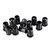 10pcs 5MM LED Holder Black Plastic Diode Lampshade Holder Clip Bezel Mount Light Case Cup Bezels Mounting Cases