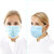 50Pcs Disposable Medical Mouth Face Masks 3-layer Respirator Mask Dust-Proof Personal Protection
