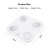 Smart Body Fat Scale Bluetooth Digital Bathroom Scales Weight Scale BMI Scale Body Composition Monitor with Smartphone App 400lb