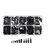 Suleve™ M2NH4 M2 Nylon Screw Black Hex Screw Nut Nylon PCB Standoff Assortment Kit 300Pcs