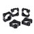 100Pcs Single 18650 Lithium Battery Bracket Fixed Composite Bracket Battery Group Support For Electric Bicycle