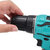 88VF Rechargeable Brushless Cordless Drill High Power LED Electric Drill Driver Kit Adapted To Makita Battery