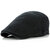 Unisex Cotton Solid Color Double-Sided Adjustable Painter Beret Hat Newsboy Flat Caps