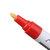 4Pcs लाल रंग टायर स्थायी पेंट पेन टायर धातु आउटडोर अंकन स्याही मार्कर ट्रेंडी