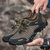 Men Anti-Collision Toe Lightweight Breathable Mesh Outdoor Hiking Sneakers