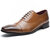 Men Formal Dress Shoes Casual Business Genuine Leather Oxfords