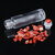 10pcs 10ml Essential Oil Gemstone Roller Ball Bottle Glass with Natural