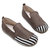 Large Size Women Casual Suede Stitching Slip On Flats