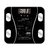 5-180kg Digital Weight Scales LCD Wireless Glass Body Fat Monitor Tracker Scale For Home Gym