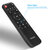 Q9 Intelligent Air Mouse BT Voice Remote Control 22 Keys 6 Key IR Plastic Silicone Black Fly Air Mouse Per Android Tv Box /Mini Pc/Tv/Win 10