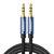 Ugreen 3.5mm Pria Pria AUX Kabel Jack 3.5 Kabel Audio Speaker Garis Aux Kabel 1M 3M 5 M untuk iPhone 6 untuk Samsung galaxy s8 Mobil Headphone Xiaomi redmi 4x Audio Jack
