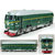 1:87 Simulated Alloy Train Locomotive Pull Back Diecast Model with Sound Music Lights Toy
