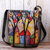 Women Special Colorful DIY Lamb Hair Bag Crossbody Bag For Daily Outdoor