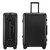 ORMIE 20inch Aluminum Frame Suitcase Password Lock Spinner Silent Wheel Luggage Case