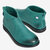 Women Plus Size Soft Sole Round Toe Solid Flats Ankle Boots