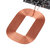 DIY Qi Standard Wireless Charging Coil Receiver Module Circuit Board DIY Coil for Phone for Battery 5V 1A Fast Quick Charger