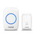 CACAZI 2 Receiver 1 Transmitter 300M Wireless Remote Waterproof LED Indicator Digital DC Doorbell