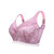 CDE Cup Plus Size Gather Lace Wireless Ultra Thin Breathable Seamless Cozy Bra