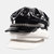 Faux Leather Flat Hats Navy Hat British Style Chain Octagonal Hat Beret