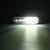 18W 6 LED Luci stroboscopiche per auto Bar 12V-24V Lampeggiante di emergenza lampada Ambra / Bianco / Ambra + Bianco