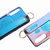 Bakeey Blue Ray Wrist Strap Shockproof Soft Silicone Protective Case for Xiaomi Mi9 / Mi9 Transparent Edition