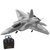 Eachine Mini F22 Raptor EPP 260mm Wingspan 2.4G 4CH 6-Axis Gyro RC Airplane Jet Trainer Warbird Fixed Wing RTF One Key Aerobatic for Beginner