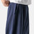 Mens Cotton Embroidery Elastic Waist Casual Pants