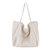 Women Canvas Vintage Pure Color Crossbody Bag Shoulder Bag for Shopping Outdoor