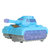 1:35 ABS High Simulation Tank with Colorful Lights and Cool Music Diecast Tank Model Toy for Kids Gift