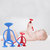 7.5cm Sucker Puzzle Toy Small Person Toy New Strange Silicone Novelties Toys