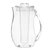 2.8L Clear Infuser Filter Pitcher Air, Buah Lemon Flavour Infused Iced Tea