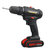 18V Two-speed Cordless Electric Drill Multifunctional Lithium Battery Rechargeable Hand Electric Drill Driver