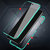 Bakeey Xiaomi Redmi Note 8 PRO 360º Curved Screen Front+Back Double-sided Full Body 9H Tempered Glass Metal Magnetic Adsorption Flip Protective Case