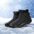 Women Water Resistant Large Size Plush Lining Warm Winter Snow Ankle Boots