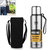 Portable Water Bottle Stainless Steel Thermos Vacuum Cup Camping Travel Portable Insulated Cup
