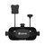 HD DVR 3 Inch 900 * 600 वीडियो हेडसेट 2000mAh बैटरी में निर्मित प्रत्येक EV EVDMDM varifocal 5.8G 40सीएच विविधता FPV चश्में