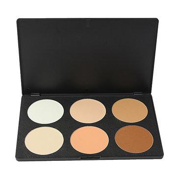 6 Colors Eye Face Concealer Camouflage Makeup Palette