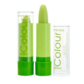 Magic Green Color Changing Lip Makeup Långvarig läppstift Kosmetisk