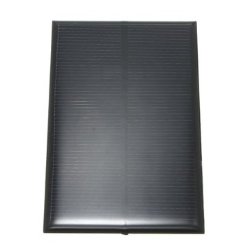 5V 250MA 1.25W Mini Monocrystalline Solar Panel
